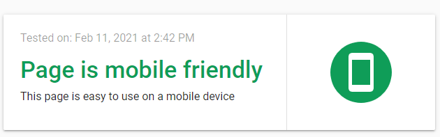 Google's Mobile-friendly Test can tell you if your website meets the mobile-friendliness requirements